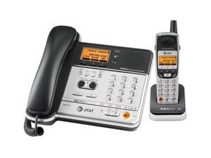 AT&T TL76108 5.8 GHz Digital DSSS 1X Handsets Corded/Cordless Phone Integrated Answering Machine