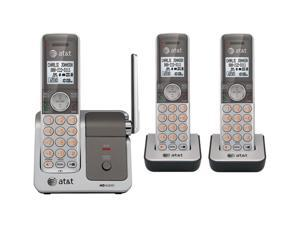 AT&T ATTCL81301 1.9 GHz Digital DECT 6.0 3X Handsets Cordless Phone with Push-to-talk Between Handsets