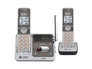 AT&T ATTCL82201 1.9 GHz Digital DECT 6.0 2X Handsets Cordless Phones with Caller ID