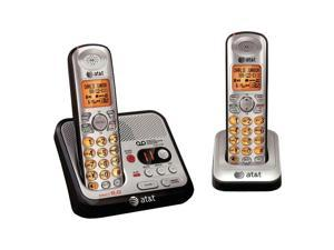 AT&T ATTEL52200 1.9 GHz Digital DECT 6.0 2X Handsets Cordless Phones with Digital Answering System