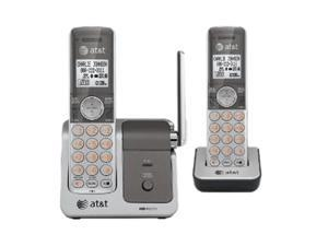 AT&T CL81201 1.9 GHz Digital DECT 6.0 DECT 6.0 digital dual handset cordless telephone