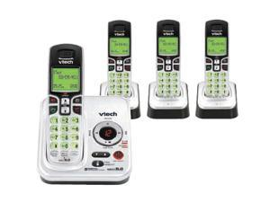 Vtech CS6229-4 DECT 6.0 Cordless Phone w/ Digital Answering System and 3 Extra Handsets