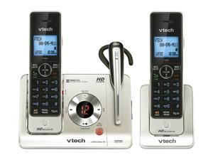Vtech LS6475-3 1.9 GHz Digital DECT 6.0 2X Handsets Cordless Phones Integrated Answering Machine