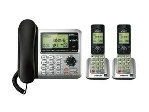 Vtech CS6649-2 1.9 GHz DECT 6.0 3X Handsets Corded/Cordless Phones