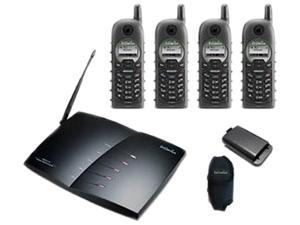 EnGenius DURAFON PRO-PIA 902-928 MHz  (Base Unit) 902-928 MHz  (Portable Handset) 4X Handsets Multi-Line Long Range Industrial Cordless Phone System