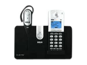 RCA 25111 Digital DECT 6.0 1X Handsets Cordless Phone with Digital Cordless Headset