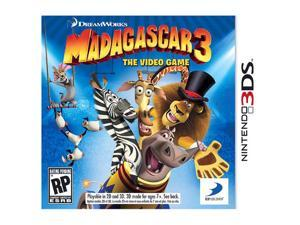 Madagascar 3: The Video Game Nintendo 3DS Game