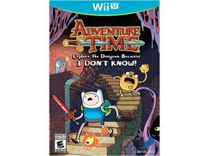 Adventure Time: Explore the Dungeon Because I DON'T KNOW! Wii U Game D3 Publisher