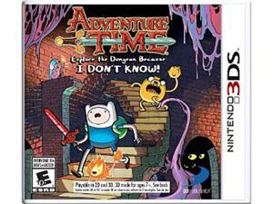 Adventure Time: Explore the Dungeon Because I DON'T KNOW! Nintendo 3DS Game
