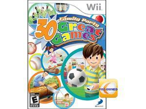 Pre-owned Family Party: 30 Great Game  Wii