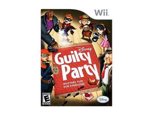 Guilty Party Wii Game Disney