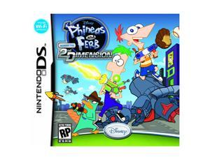 Phineas and Ferb: Across the Second Dimension Nintendo DS Game Disney