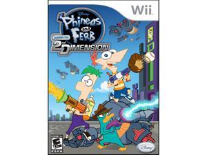 Disney Phineas & Ferb: Across the 2nd Dimension for Nintendo Wii