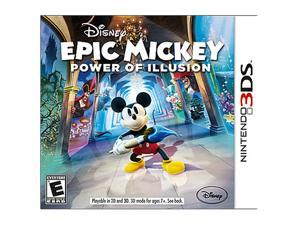 Epic Mickey: Power of Illusion Nintendo 3DS Game                                                                         ...