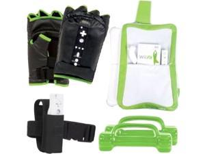 intec Wii Fit Workout Kit w/Boxing Gloves