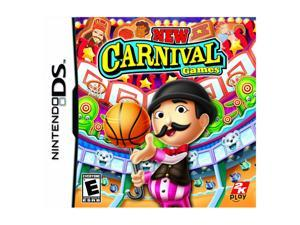New Carnival Games Nintendo DS Game