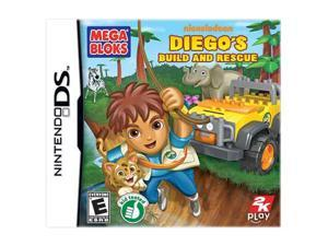 Go Diego Go!: Build and Rescue Nintendo DS Game 2K Games