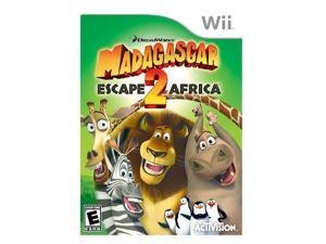 Madagascar: Escape 2 Africa Wii Game