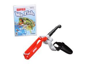 Rapala: We Fish Bundle w/Fishing Rod Wii Game Activision
