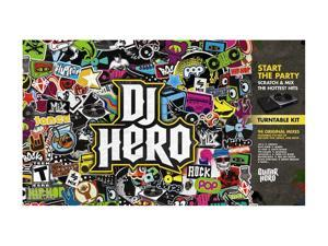DJ Hero w/turntable Wii Game
