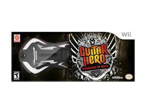 Guitar Hero: Warriors of Rock Guitar Bundle Wii Game