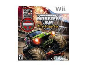 Monster Jam 3 with Wheel Wii Game