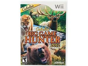 Cabela's Big Game Hunter 2012 Wii Game