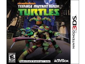 Teenage Mutant Ninja Turtles Nintendo 3DS Game