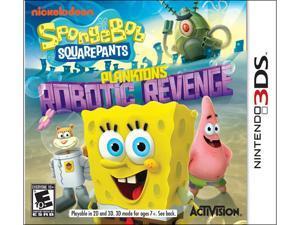 SpongeBob SquarePants: Plankton's Robotic Revenge Nintendo 3DS Game