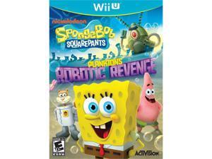 SpongeBob SquarePants: Plankton's Robotic Revenge Wii U Game