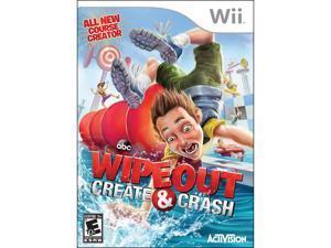 Wipeout Create & Crash Wii Game