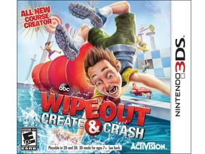Wipeout Create & Crash Nintendo 3DS Game