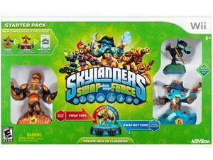 Skylanders SWAP Force Starter Pack Wii Game