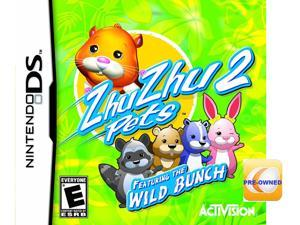 Pre-owned Zhu Zhu Pets 2 Wild Bunch  DS