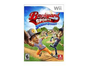 Backyard Sport Sandlot Slugger Wii Game ATARI