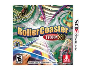 Rollercoaster Tycoon Nintendo 3DS Game