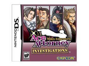 Ace Attorney Investigations: Miles Edgeworth Nintendo DS Game