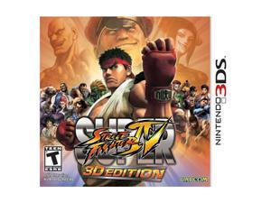 Super Street Fighter IV Nintendo 3DS Game CAPCOM