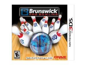 Brunswick Pro Bowling Nintendo 3DS Game CRAVE ENTERTAINMENT