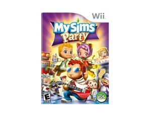 My Sims Party Wii Game EA