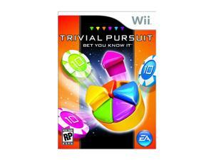 Trivial Pursuit: Bet You Know It Wii Game EA