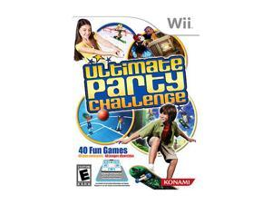 Ultimate Party Challenge Wii Game
