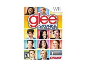 Karaoke Revolution: Glee w/Microphone Wii Game