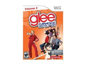 Karaoke Revolution Glee: Volume 3 Bundle Wii Game KONAMI