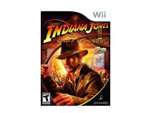 Indiana Jones and the Staff of Kings Wii Game