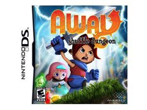 Away Shuffle Dungeon Nintendo DS Game MAJESCO