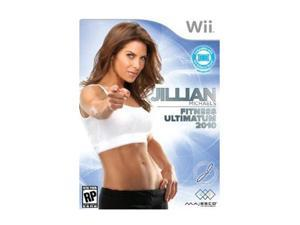 Jillian Michael's Fitness Ultimatum 2010 Wii Game MAJESCO