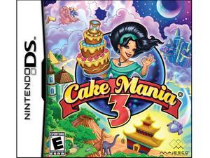 Cake Mania 3 Nintendo DS Game MAJESCO