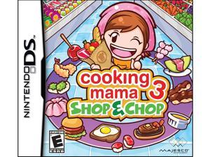 Cooking Mama 3: Shop & Chop Nintendo DS Game MAJESCO