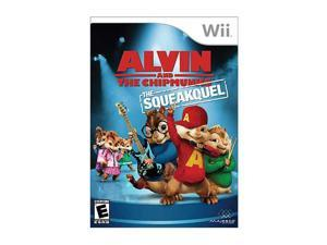 Alivin and the Chipmunks: The Squeakquel Wii Game